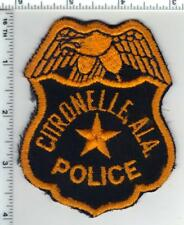 Citronelle Police (Alabama) Very RARE 1st Issue Patch - 1970's