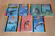 Lot 7 livres Série Jessica et les dauphins / 100% animaux - Bayard Poche