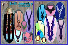 "Crochet jewelry pattern ""Soft Jewelry"" Annie Potter"