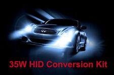 35w H11 6000K can bus xenon hid kit conversion avertissement sans erreur blanc bleu
