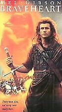 Braveheart Mel Gibson Director: Mel Columcille Gerard Gibson 1996 VHS*^
