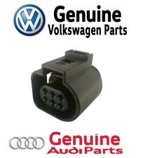 For Audi Volkswagen Throttle Actuator 6 pin Connector Housing Genuine 1J0973713