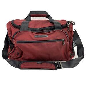 "Briggs & Riley Travelware TD340-40 Merlot Deep Luggage Carry Duffel Bag 10""Tall"
