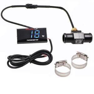 Water Temperature Gauge Racing Bike Mini Temp Meter For CB 400 CB500X Adapter