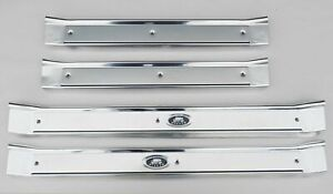 65 66 67 68 69 70 Chevy Impala Bel Air Biscayne ALL 4 DOOR Sill Plate Set