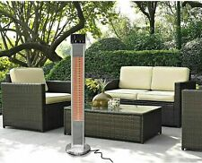 Westinghouse Outdoor Electric Patio Heater 1500W Aluminum Stainless Steel Winter