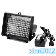 New IR Infrared 140 LED illuminator light Night Vision with adapter outdoor 18W