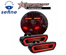 Rigid Industries Pair Chase Rear Facing Red LED Lights * 90133 *