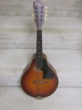 Vintage Kay Flat-top mandolin- pear-shape, good condition, as is