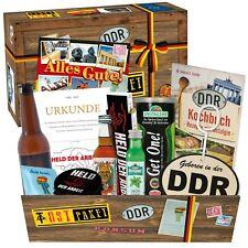 """Ostprodukte """"Männer Box"""" Geschenkkorb mit Produkten aus der DDR 2951 3007"""