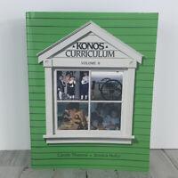 Konos Curriculum Volume II 2 Unit Study Character Curriculum 1996 Like New
