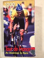 """Tour de France 1999 """"An American In Paris"""" Feat. Lance Armstrong VHS Prev Owned"""