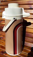 Vintage Certified Hot N' Cold Liquid Server 2QT Air Pump Light Brown - Cool!