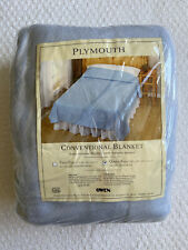 New Nip Blanket Baby Blue Plymouth Owen Conventional Usa 102 x 90 Queen King