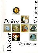Siemen, Dekor Variationen, Künstler-Arbeiten z Thema Porzellandekor, Porzellan