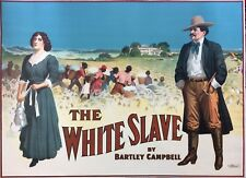 The White Slave Original 1911 Theater Poster Bartley Campbell