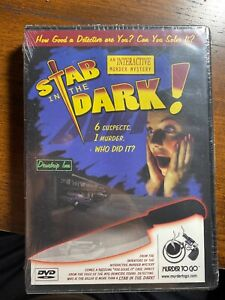 Stab In The Dark Murdertogo.com an Interactive Mystery Game DVD