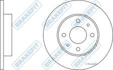 2x Brake Discs (Pair) Solid fits FIAT 500 312 0.9 1.2 1.4 2008 on 240mm Set New