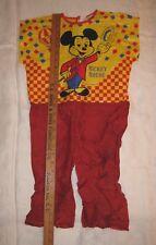 Micky Mouse Costume 1974 Walt Disney Prod Ben Cooper NO Mask