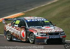 Craig Lowndes 2006 6x4 PHOTO PRINT V8 Supercars FORD RED DUST DARWIN