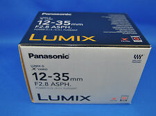 Panasonic LUMIX G X VARIO 12-35mm F2.8 Lens H-HS12035 Japan Domestic Version New