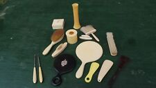 Vintage 13 Pc French Ivory Celluloid Vanity Set