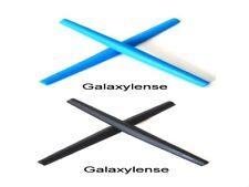 Galaxy Earsocks Rubber Kits Oakley Whisker,Wiretap,O-E Wire Black/Blue