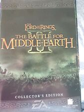 Lord of the Rings Battle for Middle Earth 2 Collectors edition manual and key