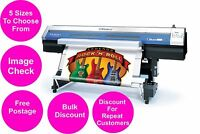 Colour Poster Printing A0 A1 A2 A3 A4 Matte 200gsm Heavy Paper Advert Print