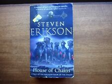 Steven Erikson House of Chains Fantasy paperback Malazan Book of the Fallen 4