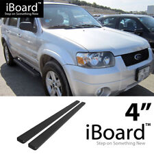 Running Board Side Step Nerf Bars 4in Black Fit Ford Escape 01-07