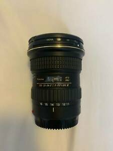 Camera Lens - Tokina 11-16mm f2.8 IF DXII (for Canon)