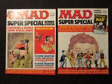 1972 MAD Magazine Super Special #17 and #18 w/ Insert FN-/FN+ LOT of 2