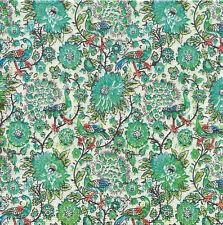 Lot de 4 Serviettes en papier Paon & Fleurs Decoupage Collage Decopatch