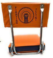 U of I  University of Illinois Fighting Illini Fan Folding Stadium Bleacher Seat
