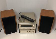 New listing Yamaha Natural Sound Crx-E150 Bookshelf Cd Receiver W/ Nx E150 Speakers & Remote