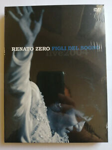 RENATO ZERO FIGLI DEL SOGNO LIVE (2004) 2 DVD  NUOVO SIGILLATO