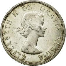 [#653027] Munten, Canada, Elizabeth II, Dollar, 1960, Royal Canadian Mint