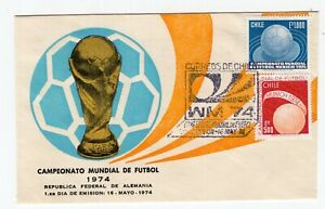 CHILE 1974 FDC world cup soccer futbol futball Germany