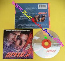 CD SOUNDTRACK Speed 2:Cruise Control CDVUS 129 USA 1997 no lp mc dvd(OST4)