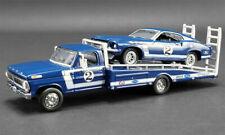 1969 Ford Mustang Boss 302 +F-350 Ramp Truck DAN GURNEY #2 *Greenlight Acme 1:64