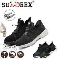 Scarpe antinfortunistica da lavoro S3 SRC uomo Donna Sneaker leggere traspiranti