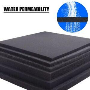 "Bio Sponge Filter Media Pad Cut-to-fit Foam Up to 19.69"" for Aquarium Fish Tank"