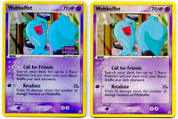 Wobbuffet 56/110 Rev Holo EX Holon Phantoms + Wobbuff Non Holo NM+ W/Tracking