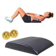 Ab Mat Abdominal / Core Trainer Pad + Trigger Point Spikey Massage Gym Ball