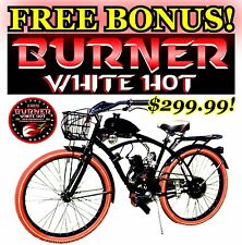"DELUXE 26"" BIKE WITH 2018 POWER 2-STROKE 66CC/80CC MOTORIZED BICYCLE KIT"