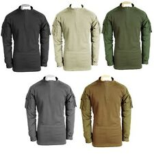 Voodoo Tactical 01-9582 Military Lightweight SWAT Zippered Combat Shirt S-2XL