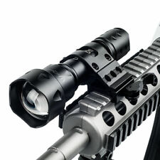 25MM Weaver Hunting Rifle Scope Rail Gun Mount Tactical Flashlight Laser T20