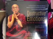 Destructive Emotions - How Can We Overcome Them? : Dalai  Lama new age SEALED