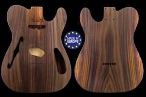 Tl thinline style George Harrison electric guitar body, indian rosewood